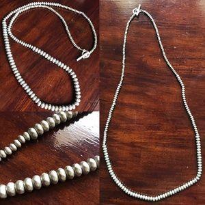 Jewelry - Silver/Metal chain. 18in long.